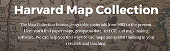 Harvard Map Collection